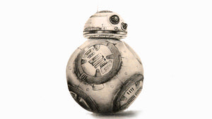 Drawing a BB-8, Star Wars The Force Awakens