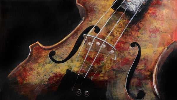 Tutorial | How to paint a violin