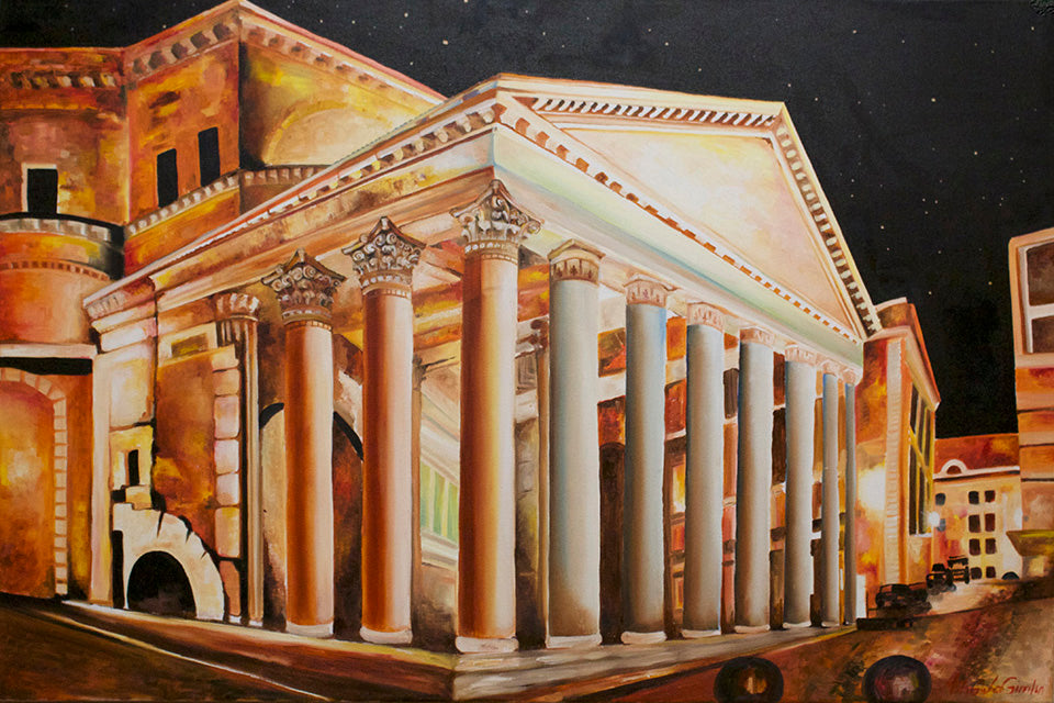 Pantheon, in Rome