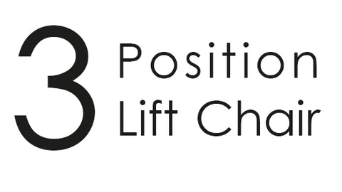 3 postion lift chair