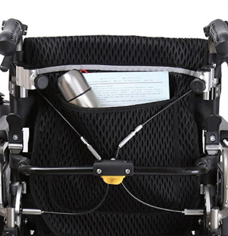 Ocean back rest recline wheelchair