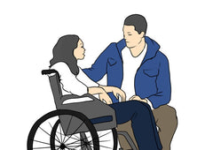 HOW TO USE WHEELCHAIR 如何使用輪椅