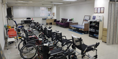 hoho wheelchair showroom 輪椅