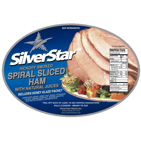 Half Spiral Cut Ham with Glaze Packet (Seasonal)