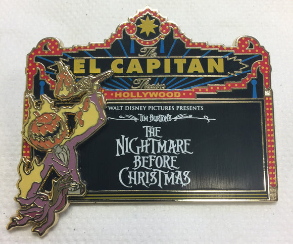 DSSH - Nightmare Before Christmas Marquee (Pin# 106335)