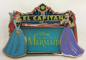DSSH- The Little Mermaid Marquee - Ariel & Vanessa (Pin# 112409)
