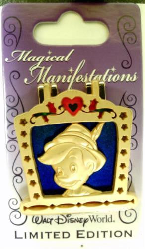 Disney Pin - WDW - Magical Manifestations - Pinocchio - Pin# 96830
