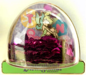 Disney Artist Proof - Snowglobe Tinker Bell Simply Sweet - AP Pin# 68935