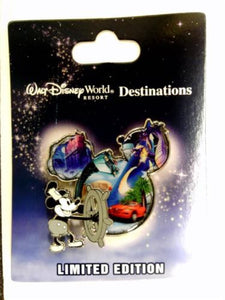 Disney Pin - WDW Destinations Mickey Mouse Icon - Hollywood Studios - Pin# 92981