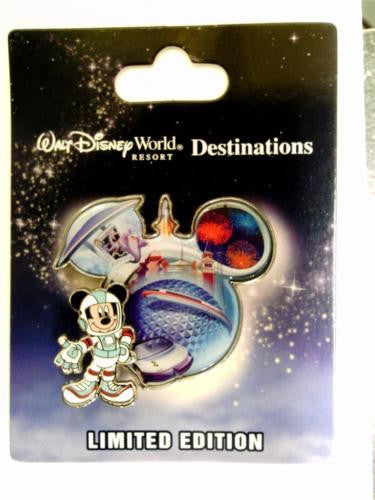 Disney Pin - WDW Destinations Mickey Mouse Icon - Epcot - Pin# 90120