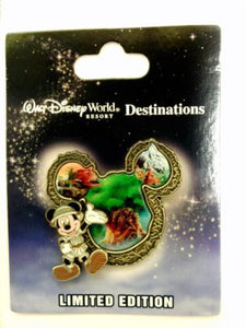 Disney Pin - WDW Destinations Mickey Mouse Icon - Animal Kingdom - Pin# 91426