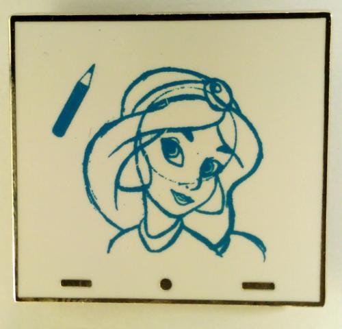 Disney Artist Proof - Animation Art - Jasmine Chaser - AP of Pin# 89062