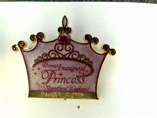 Disney Artist Proof - Inaugural Princess 1/2 Marathon 2009 - AP Pin# 68659