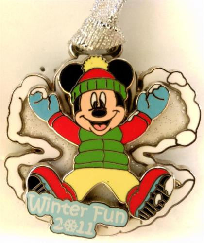 Disney Artist Proof - DLR Winter Fun 2011 Mickey Mouse - AP of Pin# 87880