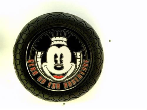 Disney Artist Proof - Gear Up For Adventure Tire Logo - AP of Pin# 91069
