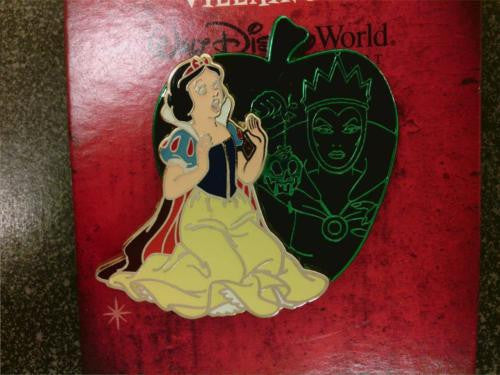Disney Pin - Valiant & Villainous - Snow White - LE1000 - Pin# 90008