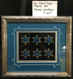 WDI Frozen Snowflake Artist Proof Framed Pin Set