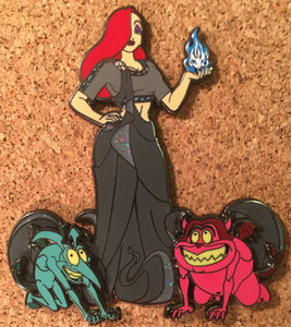 Jessica Rabbit as Hades LE50 Fantasy Pin