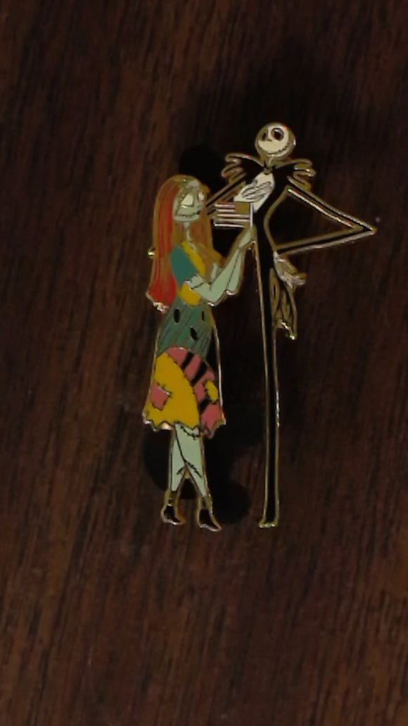 Pin 55185 DisneyShopping.com - 4th of July Series - Jack & Sally