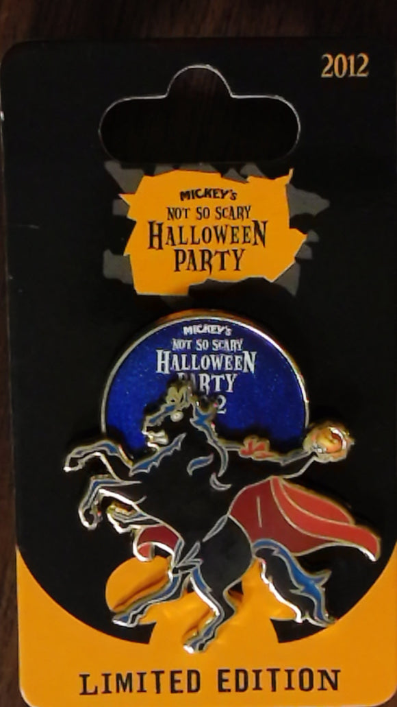 Pin 92174 WDW - MNSSHP 2012 - The Headless Horseman