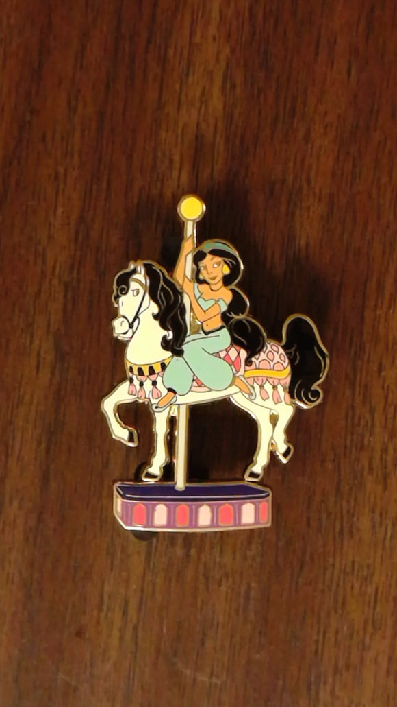 Pin 72519 DisneyStore.com - Jim Shore Disney Princess Carousel Set - Jasmine Only