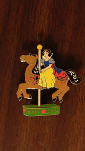 Pin 72514 DisneyStore.com - Jim Shore Disney Princess Carousel Set - Snow White Only