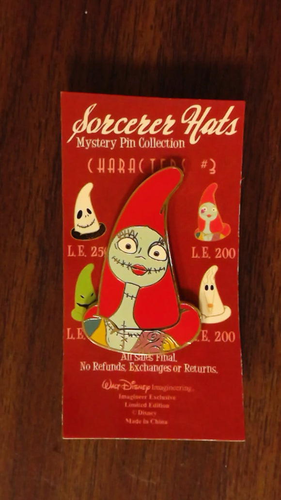 Pin 79142 WDI - Sorcerer Hats Mystery Pin Collection - Characters #3 - Sally