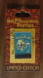 Pin 90960 WDW - Attraction Posters - Mickey's Philharmagic
