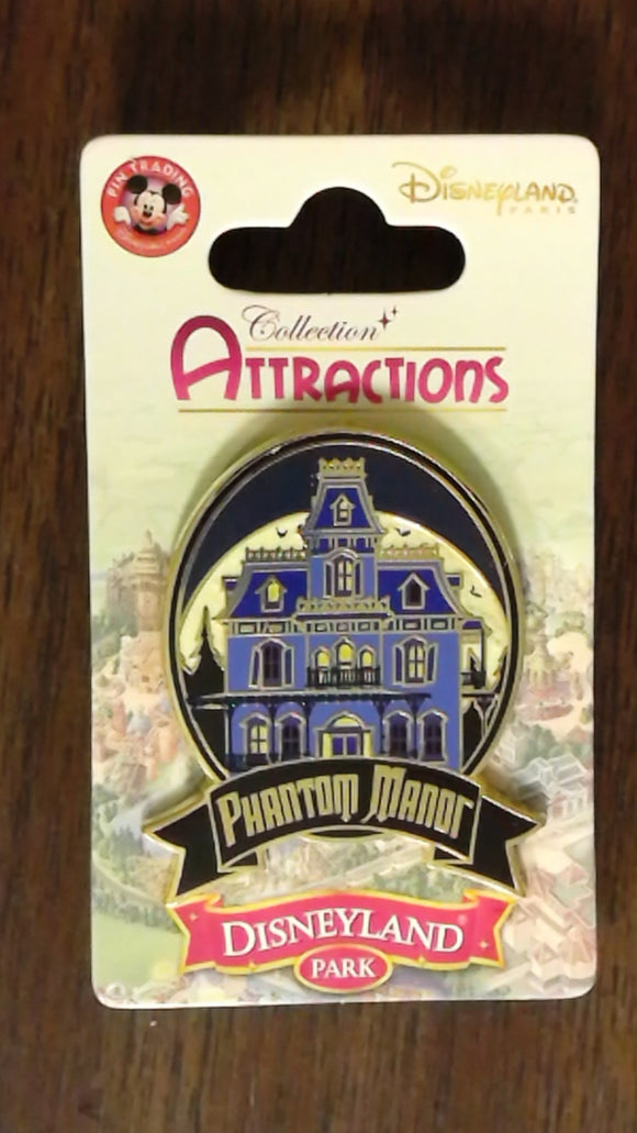 Pin 94585 DLP- Attraction Series-Phantom Manor