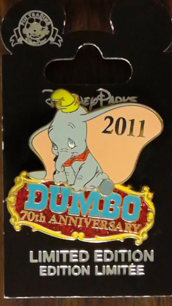 Pin 87230 Walt Disney's Dumbo 70th Anniversary