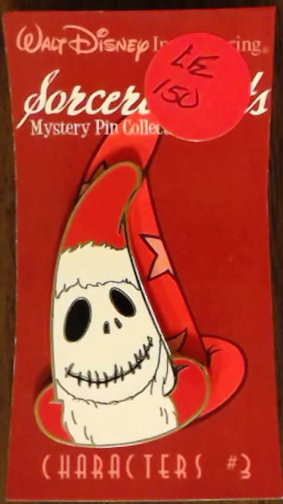 Pin 79145 WDI - Sorcerer Hats Mystery Pin Collection - Characters #3 - Jack Skellington as Sandy Claws (Mystery Chaser)