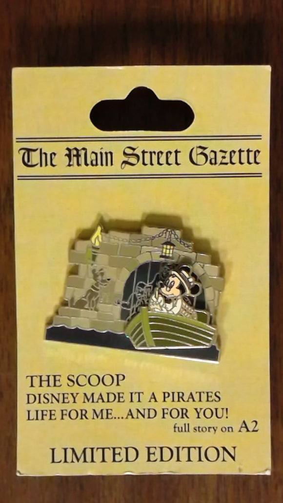 Pin 60755 WDW - The Scoop! - Pirates of the Caribbean