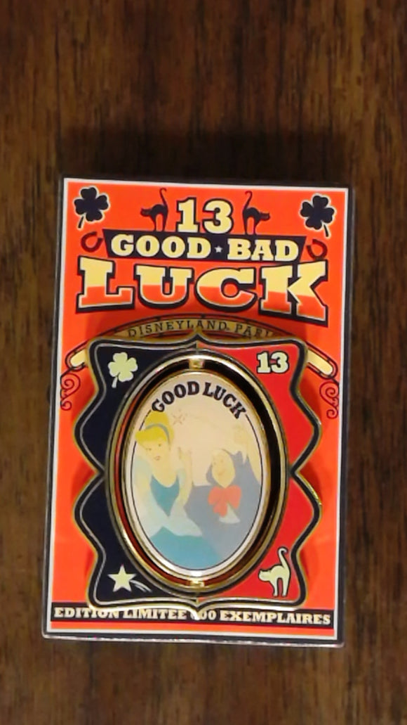 Pin 97036 DLP - Pin Good luck Bad luck Cinderella