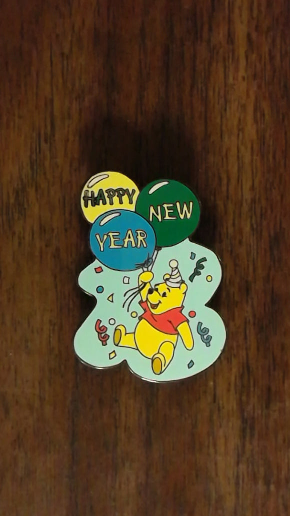 Pin 27481 Disney Auctions (P.I.N.S.) - Pooh New Year