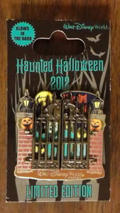 Pin 92196 WDW - Haunted Mansion Halloween 2012 - Phineas
