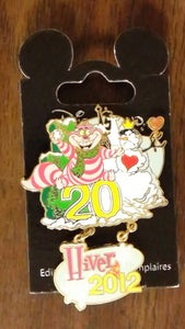 Pin 94130 DLP - 20th Anniversary Hiver (Winter) with Cheshire Cat