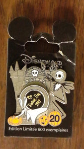 Pin 92126 DLP - Pin Trading Day - Zero and Jack 20th Anniversary
