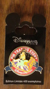 Pin 90305 DLP - Walt Disney Studios Pin Event - Princess Jasmine (Aladdin)