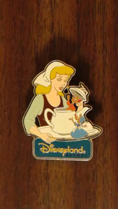 Pin 13201 DLR - AP Dining Series Pin #4 (Cinderella & Friends)