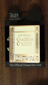 Pin 91836 Treasures of the Walt Disney Archives - the Reagan Library - Storybook Snow White