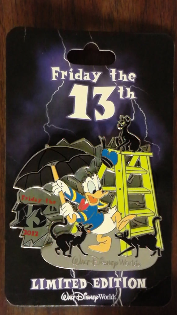Pin 91334 WDW - Friday 13th - 2012 (Donald Duck)