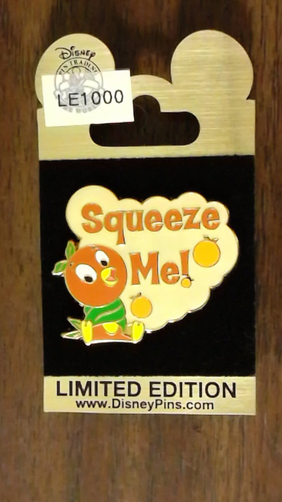 Pin 74104 WDW - Gold Card Collection - Orange Bird - Squeeze Me!