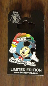 Pin 90840 2012 Walt Disney World ® Resort Rainbow Pin
