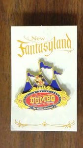 Pin 94063 WDW - New Fantasyland Reveal/Conceal Mystery Collection - Dumbo - Entrance Sign ONLY