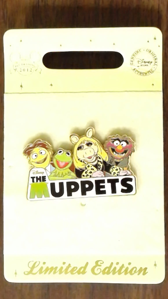 Pin 89191 Disney Store Europe - Disney The Muppets