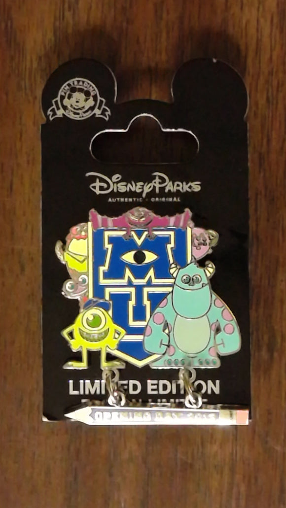 Pin 96268 Monsters University - Opening Day