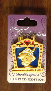 Pin 96830 WDW - Magical Manifestations - Pinocchio