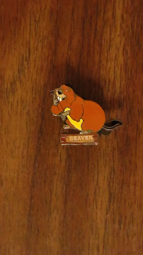 Pin 36579 Disney Catalog - Lady and The Tramp 50th Anniversary (Beaver)