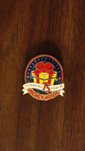 Pin 26706 WDW Cast Exclusive - Mickey's 75th Birthday (Hinged)
