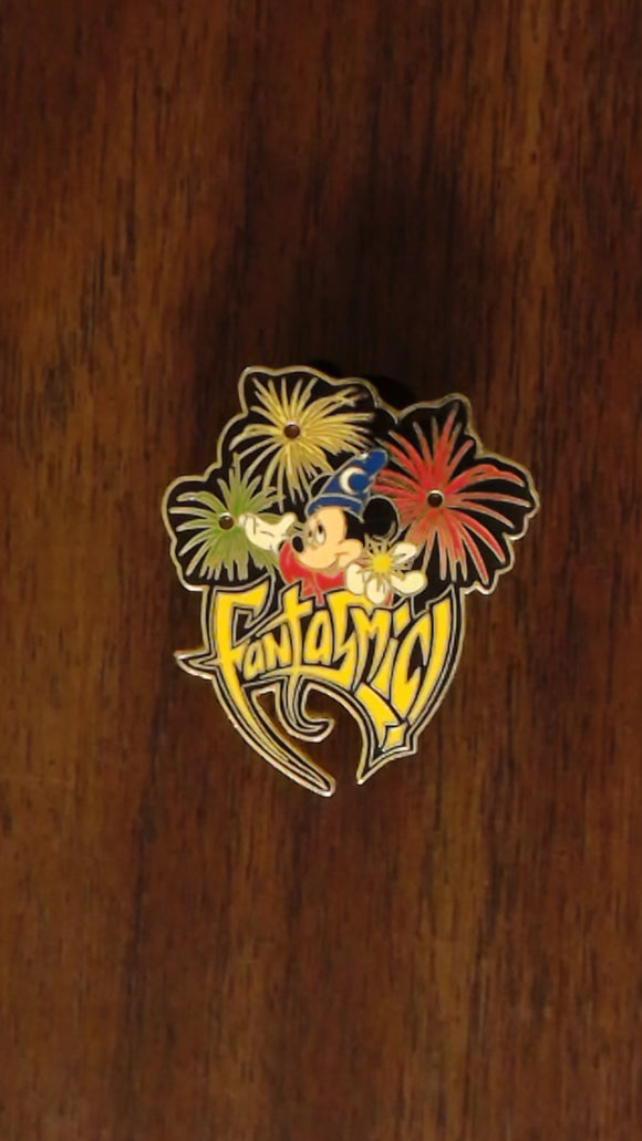 Pin 10045 WDW - Fantasmic! Sorcerer Mickey ( Light-Up)